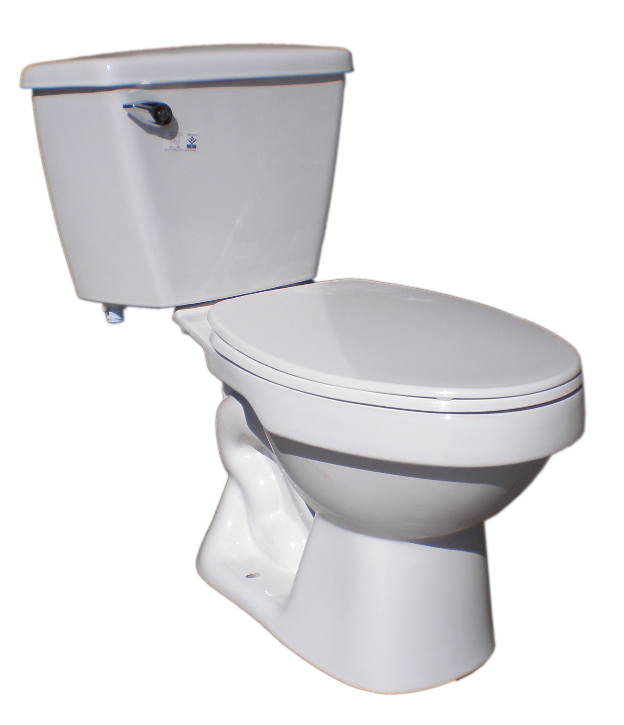 Complete Toilet In Box Tank Elongated Bowl Seat Closet