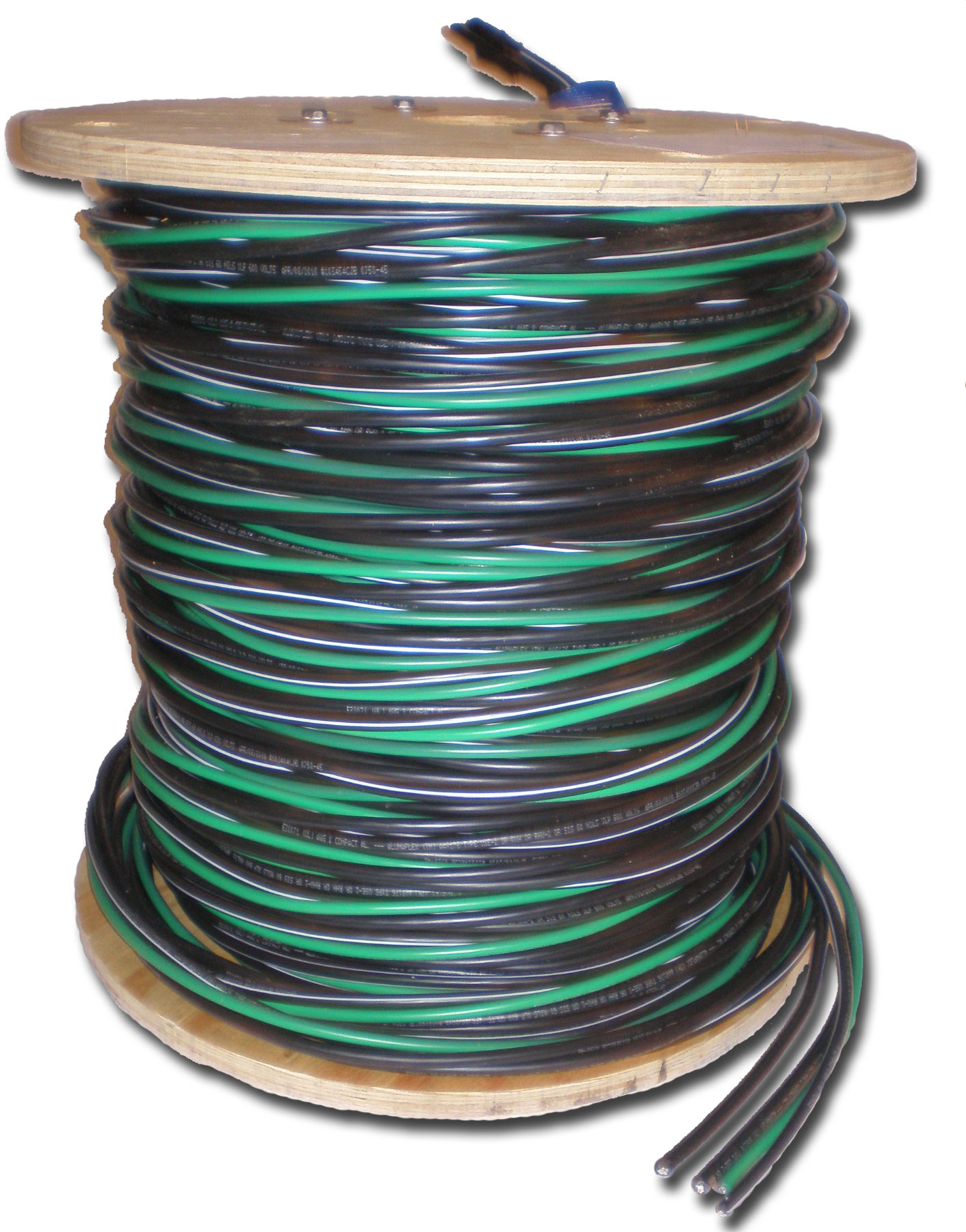 200 AMP Mobile Feed Wire 4/0 4/0 4/0 2/0 500 ft. reel – Sedco Pier